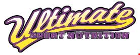 Ultimate Sport Nutrition logo