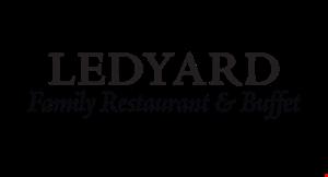 Ledyard Family Restaurant  &  Buffet logo