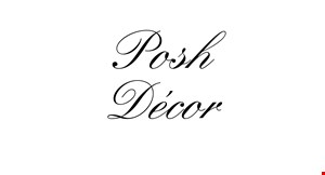 Posh Decor & Boutique logo