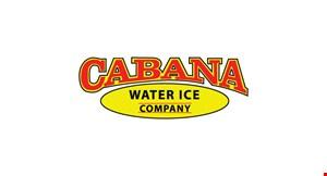 Cabana Water Ice Company logo