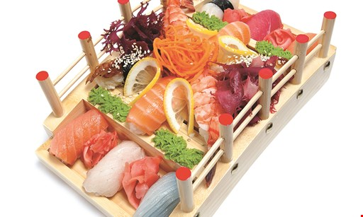 Product image for Fuji Yama Hibachi & Sushi 20% Off dinner.