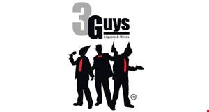 3 Guys Liquors & Wines Inc logo