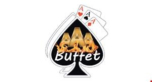 Triple  Ace Buffet logo