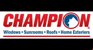 Champion Windows of Knoxville logo