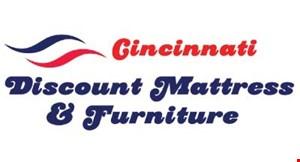 Cincinnati Mattress & Furniture logo