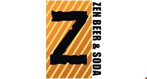 Zen Beer & Soda logo