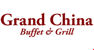 Grand China Buffet and Grill logo