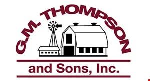 GM Thompson & Sons logo