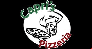 Capri's  Pizzeria logo