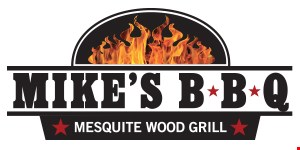Mike's BBQ logo