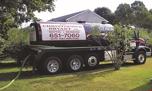 Product image for The Christopher Bryant Co. $50 off new buyer septic inspection