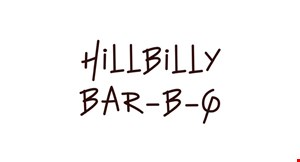 Hillbilly Bar B Q logo