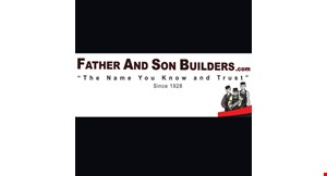 Father & Son Builders logo