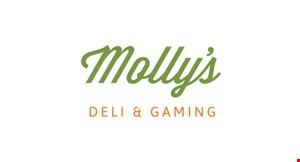 Molly's Deli & Gaming logo