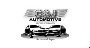 C & J Automotive logo