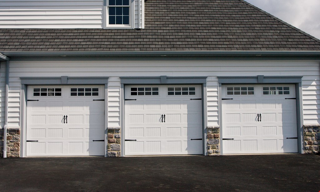 Product image for Precision Overhead Garage Door Service FREE SERVICE CALL when you present this coupon with any REPAIR of $95 or more.