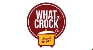 WHAT A CROCK logo