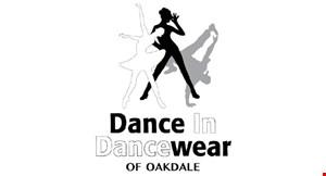 Dance in Dancewear of Oakdale logo