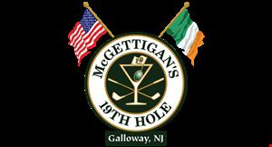 Mcgettigans 19Th Hole logo