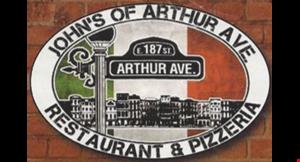 John's of Arthur Ave Restaurant & Pizzeria logo