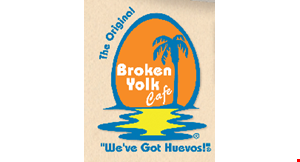 BROKEN YOLK CAFE logo