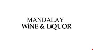 Mandalay  Wine and Liquor logo