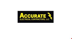 Accurate Electric  Contractors logo