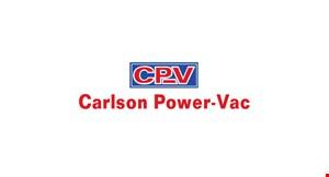 Carlson Power- Vac logo
