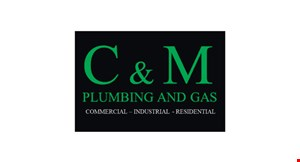 C & M Plumbing and Gas logo