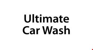Ultimate Car Wash logo