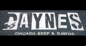 Daynes Chicago Beef & Dawgs logo