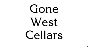 Gone West  Cellars logo