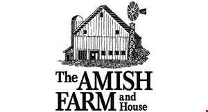 The Amish Farm and House logo
