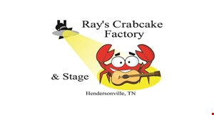 Ray's Crabcake Factory &  Stage logo