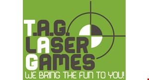 T.A.G. Laser Games logo