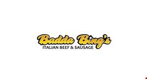 Badda Bing's Italian Beef & Sausage logo