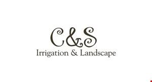 C & S Irrigation  & Landscape logo