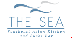 The Sea Southeast Asian Kitchen & Sushi Bar logo