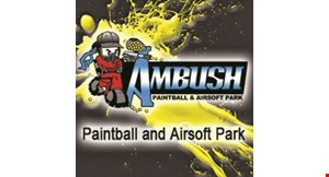 Ambush Paintball & Airsoft Park logo