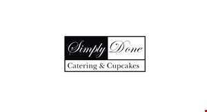 Simply Done Catering &   Cupcakes logo