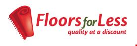 Floors for Less logo