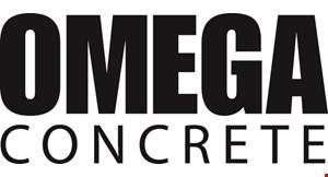 Omega Concrete logo