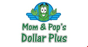 Mom and Pop 'S  Dollar Plus logo