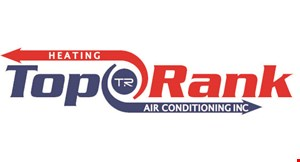 Top Rank Heating and Air Conditioning logo