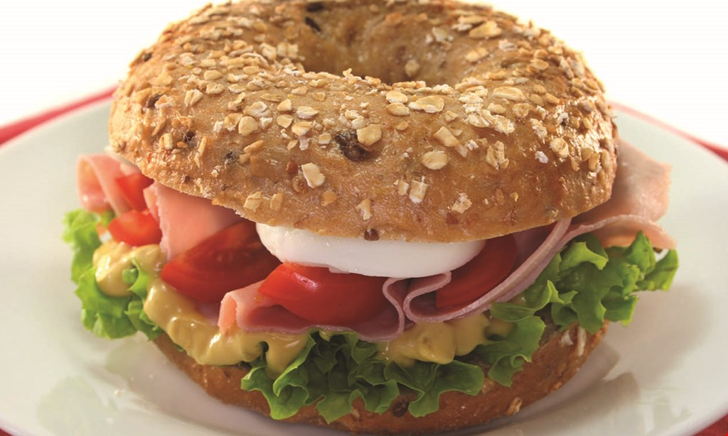 Product image for NEW YORK BAGELRY 5 free bagels buy 9 bagels and get 5 bagels of equal or lesser value free