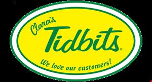Clara's Tidbits logo