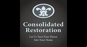 Consolidated Restoration logo