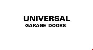 Universal Garage Doors, LLC logo