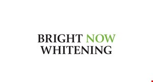 Bright Now Whitening logo