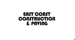 East Coast Construction and Paving logo